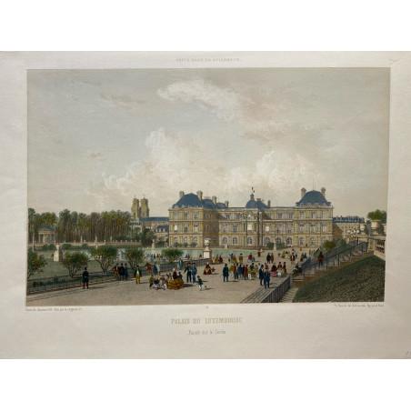 Paris dans sa splendeur, Palais du Luxembourg, 1861