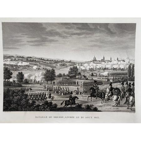 Bataille de Dresde, livrée le 26 Aout 1813.