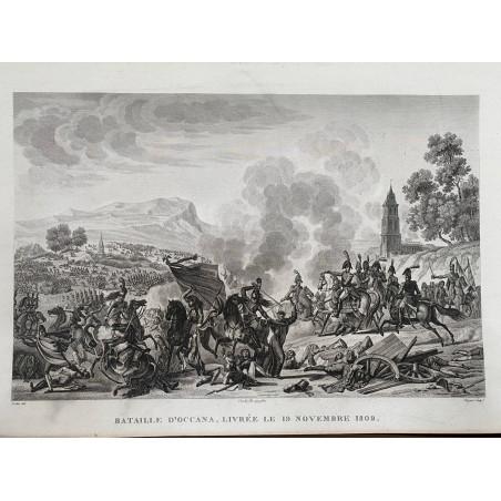 Bataille d'Occana, livrée le 19 Novembre 1809.
