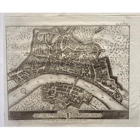 Vue de Bâle, vers 1760