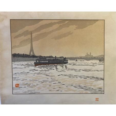 Henri Rivière, les 36 vues de la Tour Eiffel, 1902