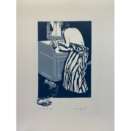 La toilette (hommage à Marie Cassatt)