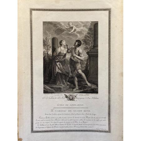 Galerie du Duc d'Orleans, 1786, Sainte Appoline.