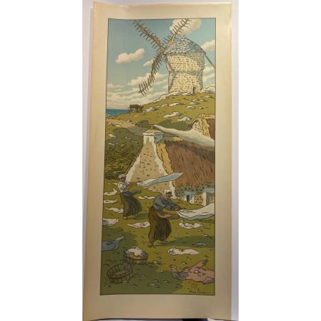 Henri RIVIERE, le vent, 1901