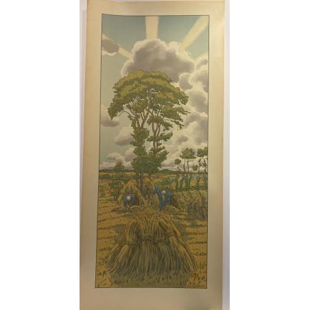 Henri RIVIERE, l'orage qui monte, 1902