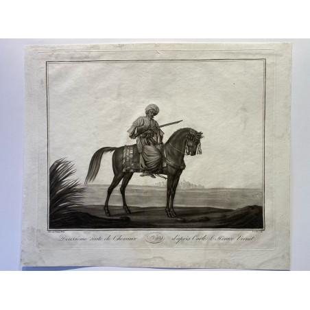 Carle et Horace Vernet, suite de chevaux, vers 1830.