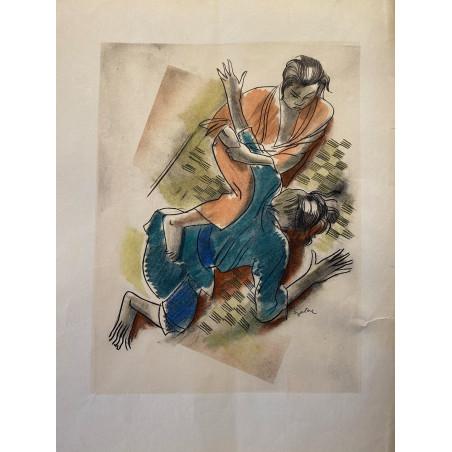 Milovoy Uzelac, les joies du sport, 1932, judo.