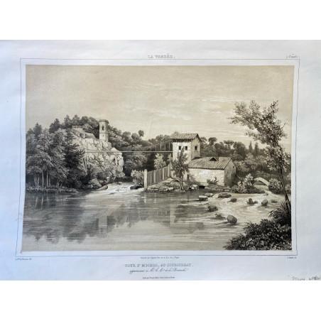 La Vendée, Baron de Wismes, Tour St Michel, au Couboureau, Vendée.