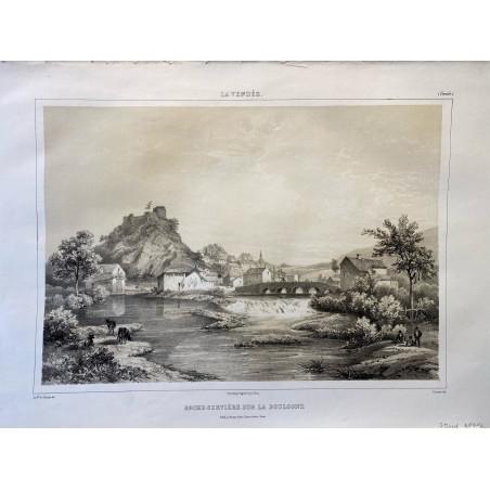 La Vendée, Baron de Wismes, Roche-Servière sur la Boulogne, Vendée.