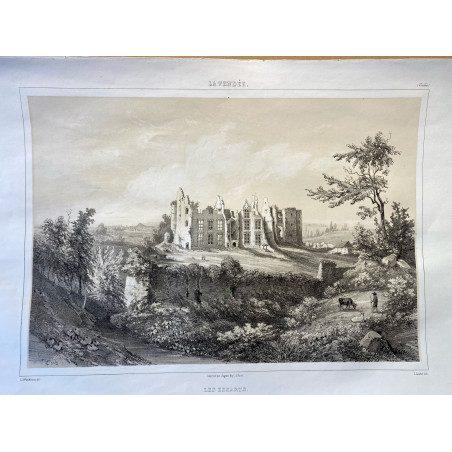 La Vendée, Baron de Wismes, les essarts, Vendée.
