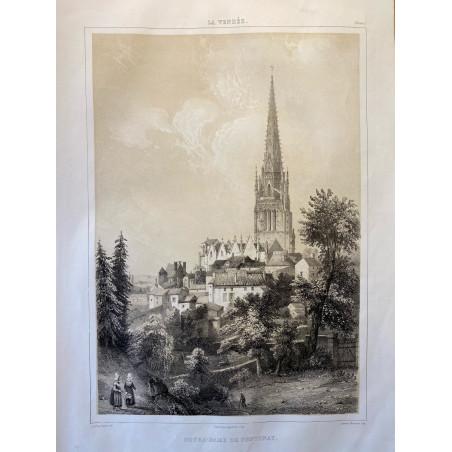 La Vendée, Baron de Wismes, Notre Dame de Fontenay, Vendée.