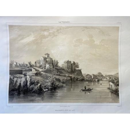 La Vendée, Baron de Wismes, Mareuil sur le lay, Vendée.