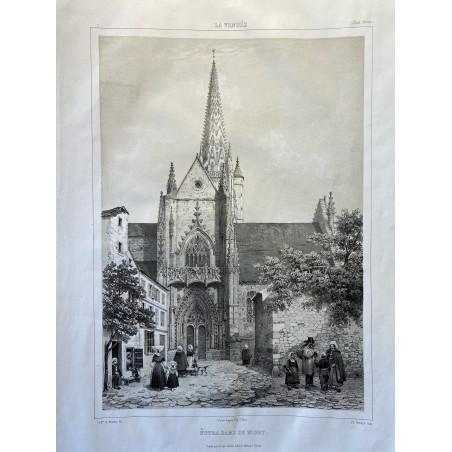 La Vendée, Baron de Wismes, Notre Dame de Niort, Deux-Sèvres.