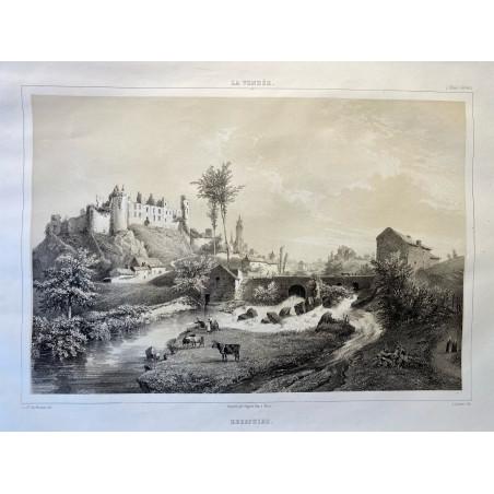 La Vendée, Baron de Wismes,Bressuire, Deux-Sèvres.