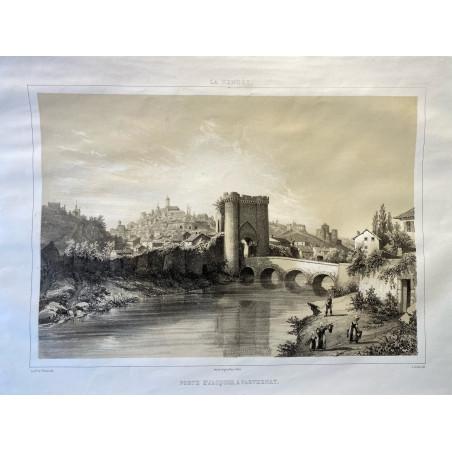 La Vendée, Baron de Wismes, Porte St Jacques à Parthenay,Deux-Sèvres.