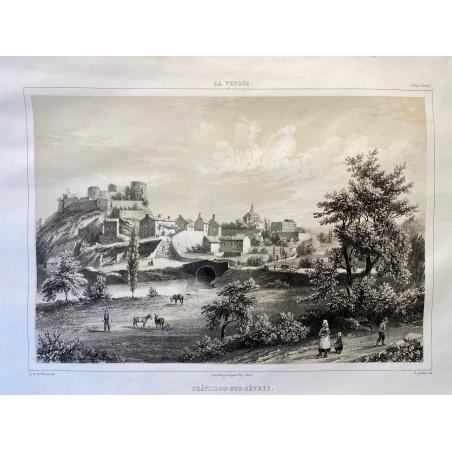 La Vendée, Baron de Wismes,Châtillon-sur-Sèvres, Deux-Sèvres.