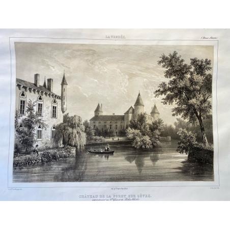 La Vendée, Baron de Wismes, château de la foret sur Sèvres, Deux-Sèvres.
