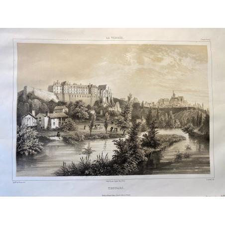 La Vendée, Baron de Wismes, Thouars, Deux-Sèvres.
