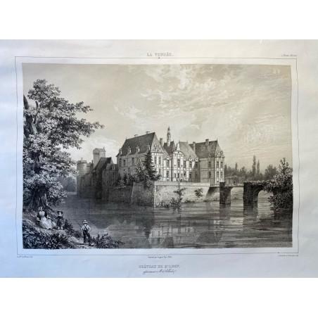 La Vendée, Baron de Wismes, château de St Loup, Deux-Sèvres.