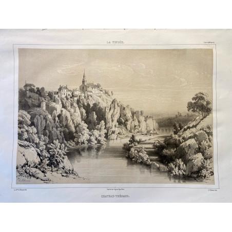 La Vendée, Baron de Wismes, Château-Thébaud, Loire Atlantique.