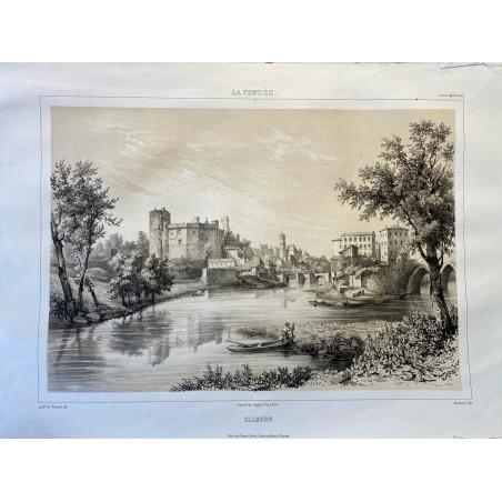 La Vendée, Baron de Wismes, Clisson, Loire Atlantique.