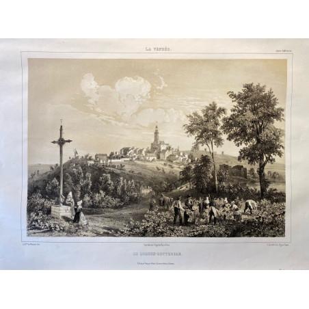 La Vendée, Baron de Wismes, le Loroux-Bottereau, Loire-Atlantique.