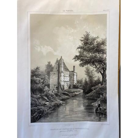 La Vendée, Baron de Wismes, chapelle du château de la Bourgonnière, Maine et Loire.