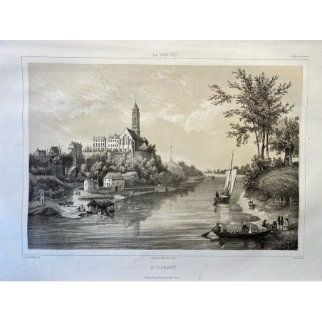 La Vendée, Baron de Wismes, St Florent, Maine et Loire.