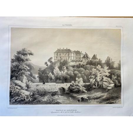 La Vendée, Baron de Wismes, château de Maulévrier, Maine et Loire.