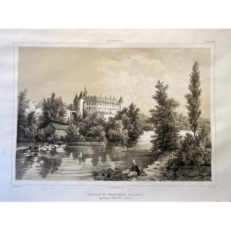 La Vendée, Baron de Wismes, château de Beaupreau, Deux-Sèvres.