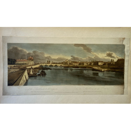 copy of Thomas Girtin, vues de Paris et ses environs, 1803.