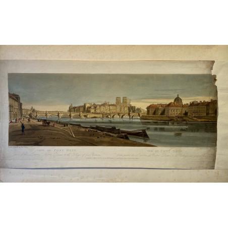 Thomas Girtin, vues de Paris et ses environs, 1803.