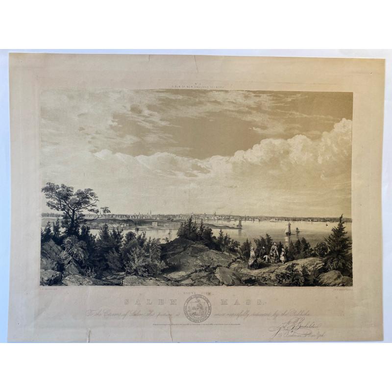 South view of Salem Mass 1856
