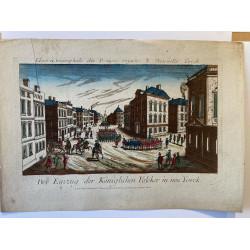 L' entrée triomphale des troupes Royales à Nouvelle York