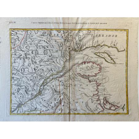 Parte orientale del Canada, Nueva Scozia Settentrionale, e parte di Labrador