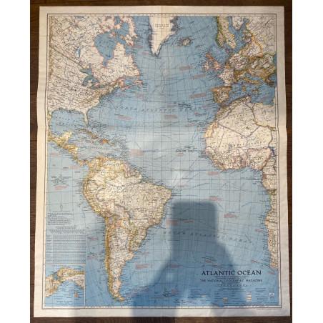 Atlantic Ocean, The National Géographic Magazine, 1938.