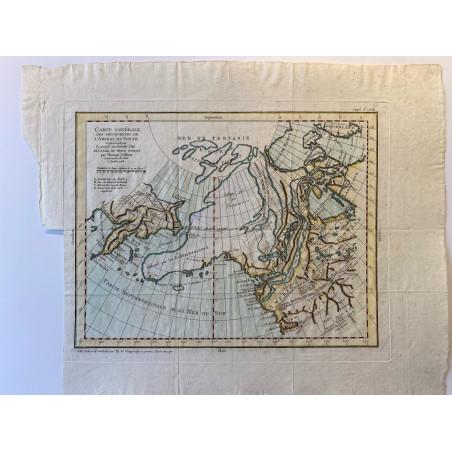 Carte générale des découvertes de l'Amiral de Fonte.1772.