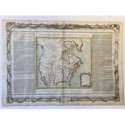 Nouveau Mexique, Louisiane, Canada et les états unis, Brion 1790.