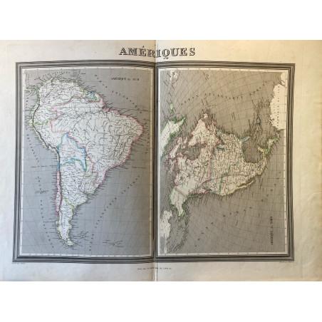 Amériques, Dussillion, 1860