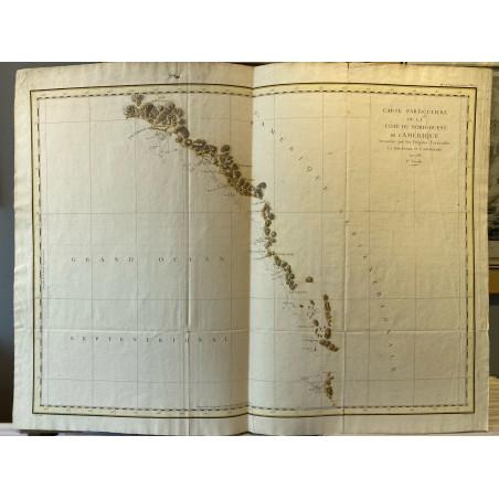 Carte particulière de la côte Nord Ouest de l' Amérique, La Pérouse, 1780
