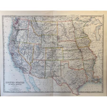 United States of North America, Johnston, 1890.