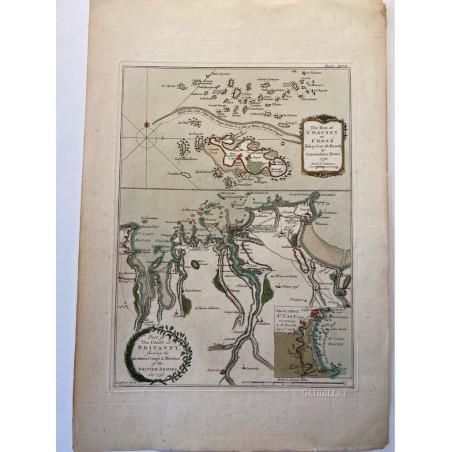 Part of the coast of Britanny,T. Jefferys 1761.