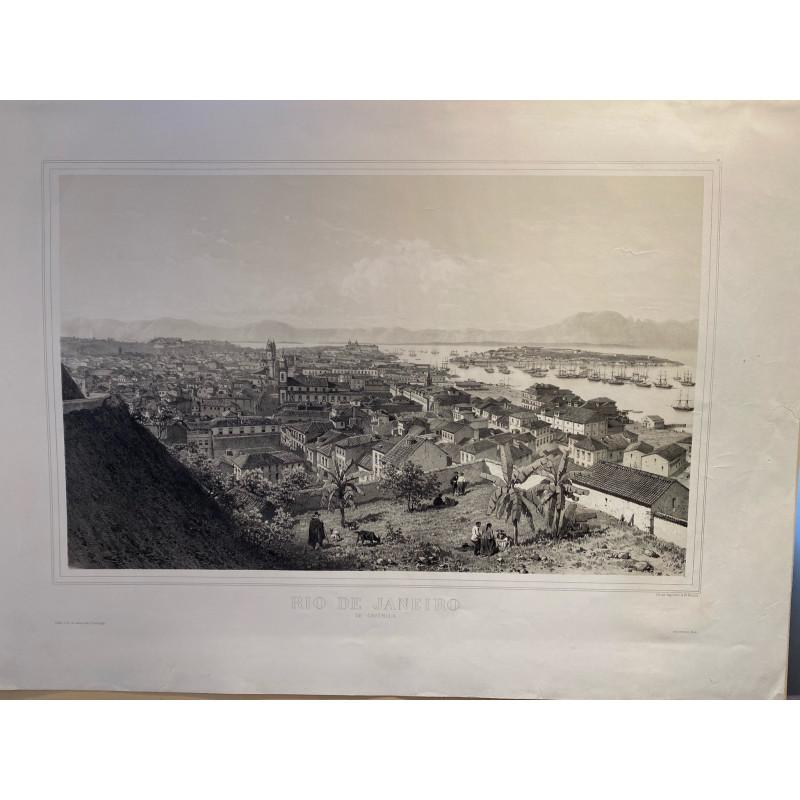 Rio de Janeiro, de Castella, E.Ciceri, F.Benoist,1860.