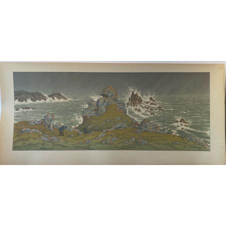 Henri RIVIERE, la tempête, 1902.