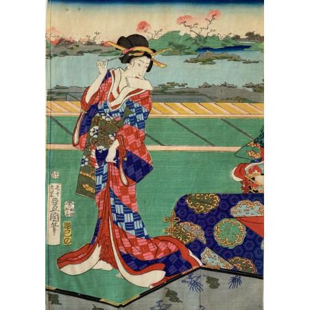 Toyokuni III, estampe japonaise