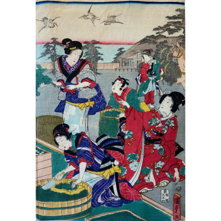 Utagawa KUNISADA, estampe japonaise
