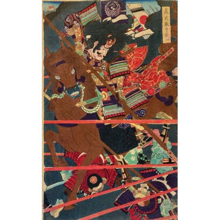 Utagawa Yoshitora, estampe japonaise
