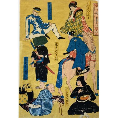 Yoshitora, estampe japonaise
