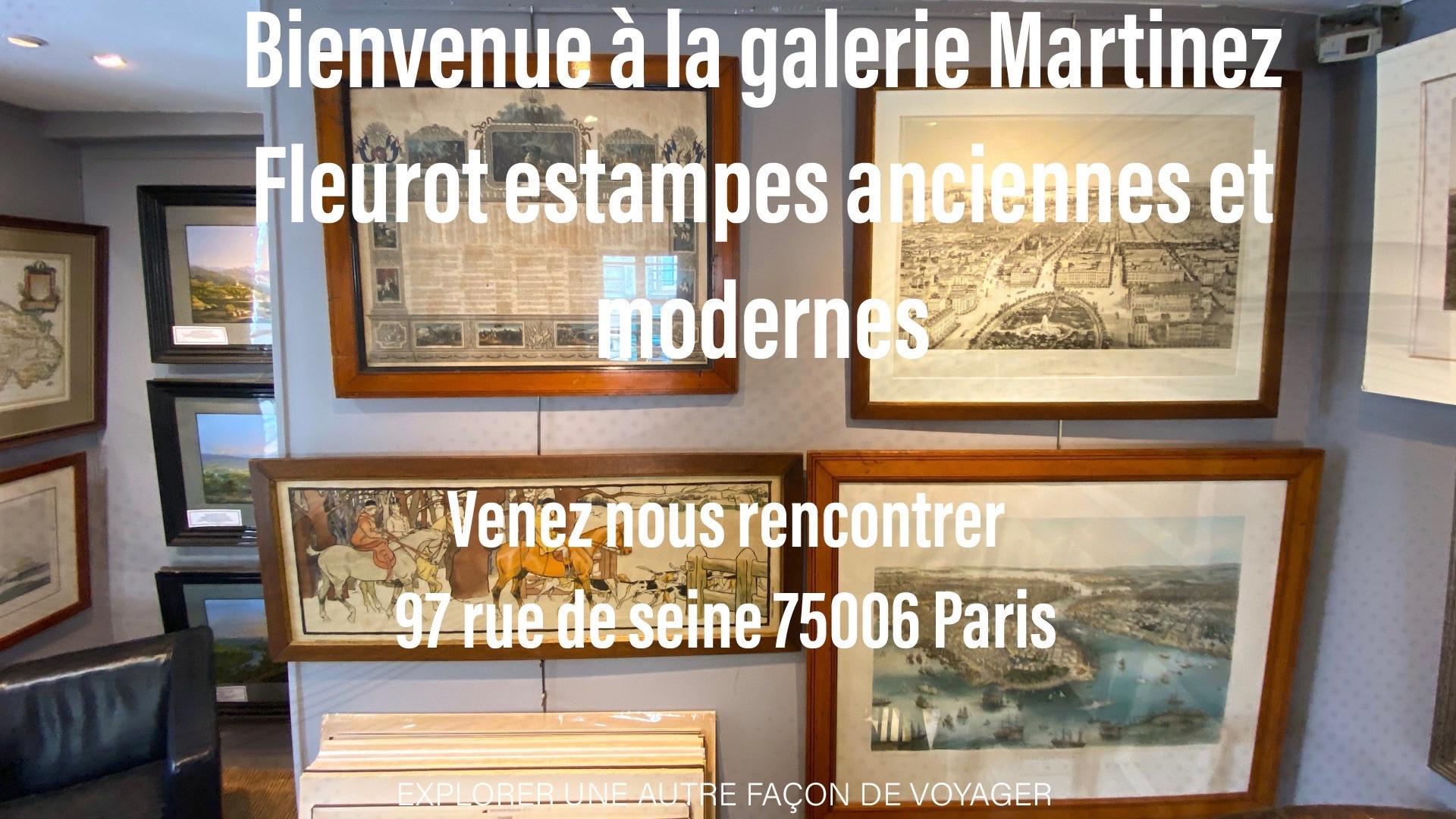 Venez nous rencontrer à la galerie Martinez Fleurot